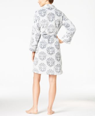 Charter Club Embossed Short Robe