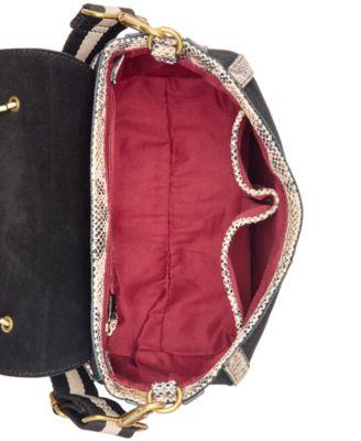 Emma Fox Dales Top Handle Flap Saddle Bag