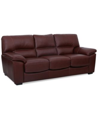 Leather Couches Amp Sofas Macy S