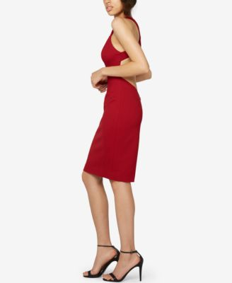 Fame and Partners Cross-Neck Party Dress