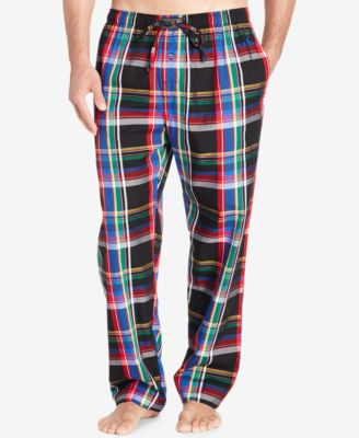 Polo Ralph Lauren Mens Burlington Plaid Pants
