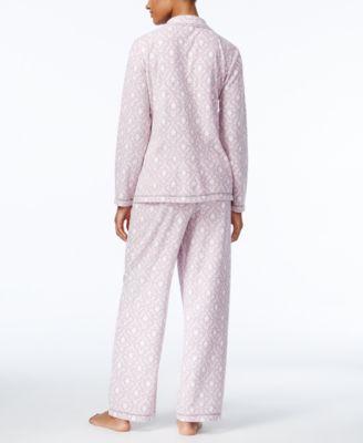 Charter Club Petite Fleece Pajama Set