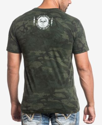 Affliction Mens Graphic-Print T-Shirt