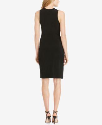Polo Ralph Lauren Asymmetrical-Slit Jersey Dress