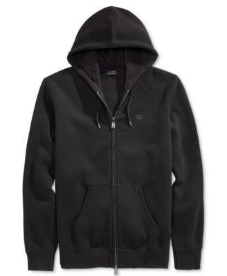 Armani Jeans Mens Full-Zip Hoodie