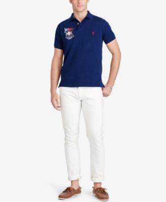 Polo Ralph Lauren Mens Custom-Fit Polo