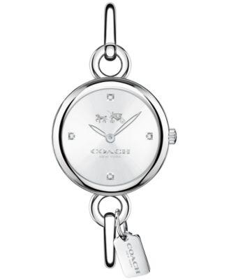 COACH Women's Stainless Steel Bangle Bracelet Watch 28mm 14502648