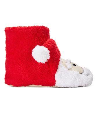 PJ Couture Womens Santa Slipper Boots