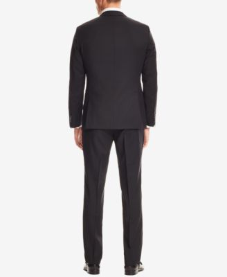 BOSS Mens Slim-Fit Wool 3-Piece Suit