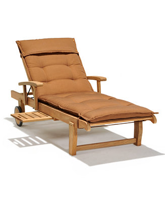 cream chaise lounge bristol teak outdoor chaise lounge furniture macy s 13587 | 874226 fpx