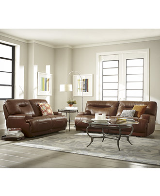 Ricardo Leather Sofa Living Room Furniture Collection