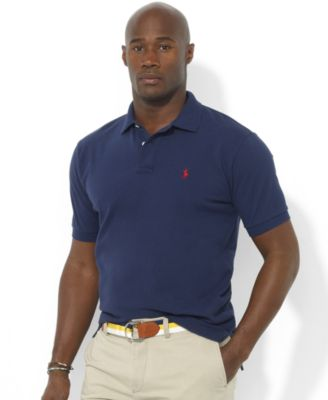 Polo Ralph Lauren Men\u0026#39;s Big and Tall Classic-Fit Mesh Polo