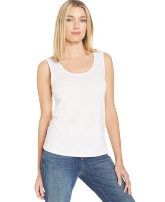 Eileen Fisher Silk Jersey Tank Top