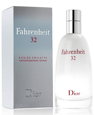 Dior Fahrenheit 32 Eau de Toilette Spray, 3.4 oz. - Shop ...