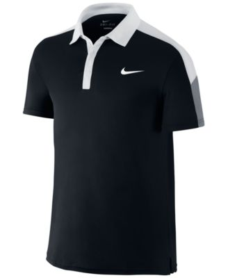 Nike Mens Team Court Tennis Polo