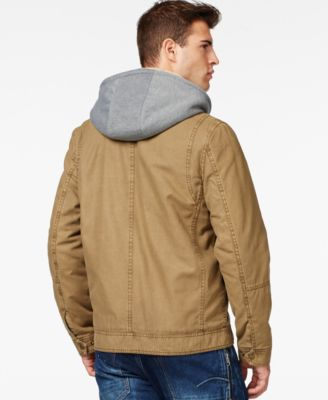 GUESS Trucker Jacket with Removable Hood