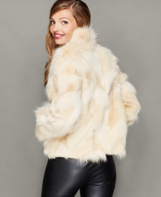 The Fur Vault Coyote Fur Jacket
