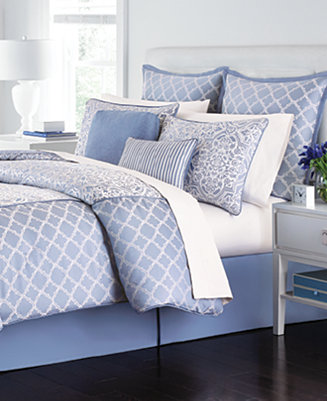 Closeout Martha Stewart Collection Fleur Bouquet 6 Piece Comforter Set Only At Macy