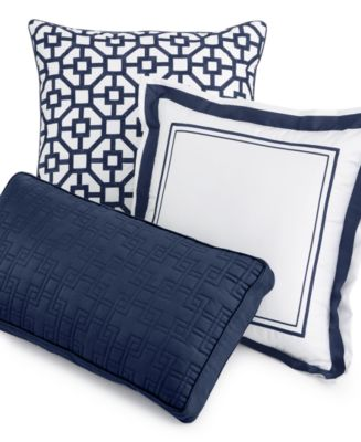Hotel Collection Mulberry Decorative Pillows : Hotel Collection Embroidered Frame Decorative Pillow Collection, Only at Macy s - Decorative ...