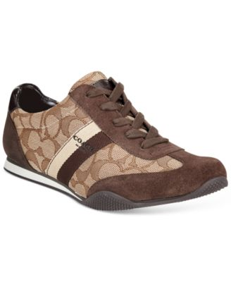 COACH Kelson Lace-Up Sneakers