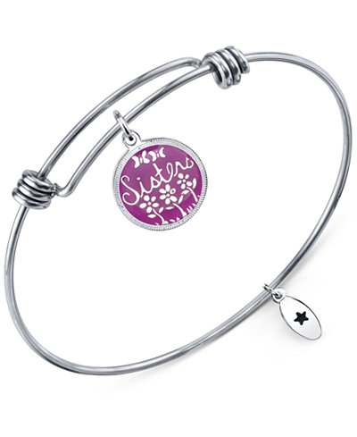 unwritten jewelry unwritten quot quot adjustable message bangle bracelet in 3770