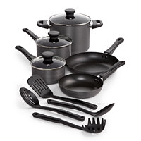 Tools of the Trade Hard Anodized 12 Piece Non Stick Cookware Set