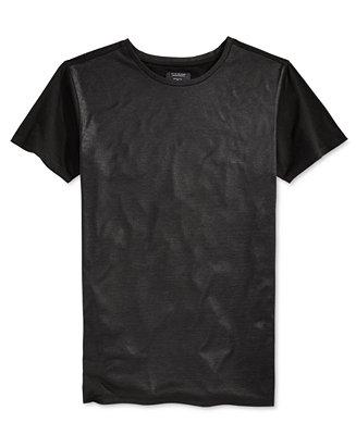 Guess men 39 s mason shine longline t shirt t shirts men for Mason s men s shirts