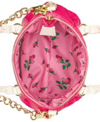 Betsey Johnson Quilted Mini Crossbody
