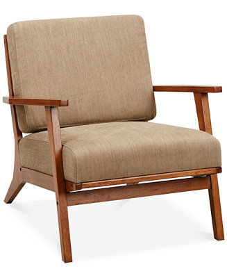 Axis Exposed Wood Accent Chair Direct Ship Furniture