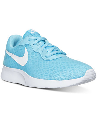 nike s tanjun br casual sneakers from finish line