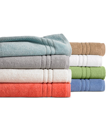 Closeout martha stewart collection quick dry bath towel collection only at macy 39 s bath Martha stewart bathroom collection