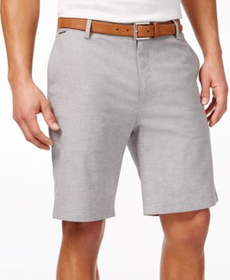 Vince Camuto Mens Classic-Fit Flat-Front Shorts