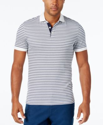 Michael Kors Mens Multi-Stripe Polo