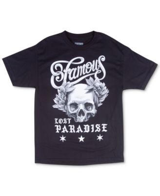 Famous Stars and Straps Mens Graphic-Print T-Shirt