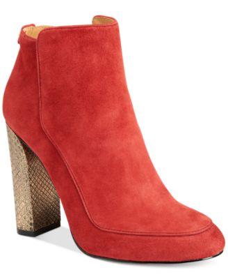 Calvin Klein Womens Jasalina Ankle Boo..