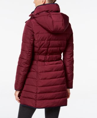 Tommy Hilfiger Contrast-Trim Hooded Pu..