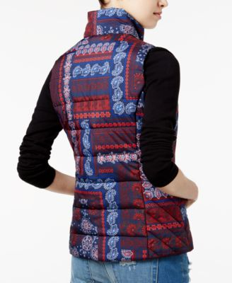 Tommy Hilfiger Paisley-Print Patchwork..