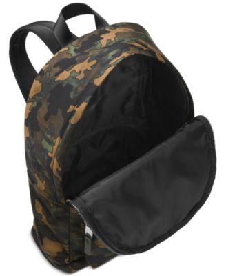 Michael Kors Mens Kent Camo Lightweight Backpack