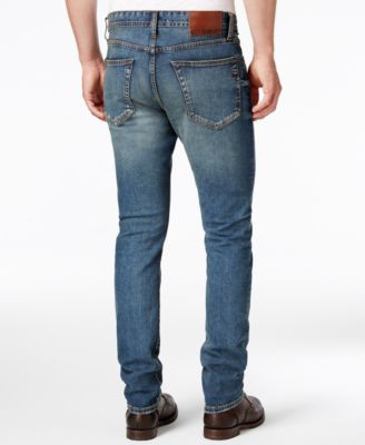 WILLIAM RAST Mens Slim-Fit Straight-Leg Dean Bayou Jeans