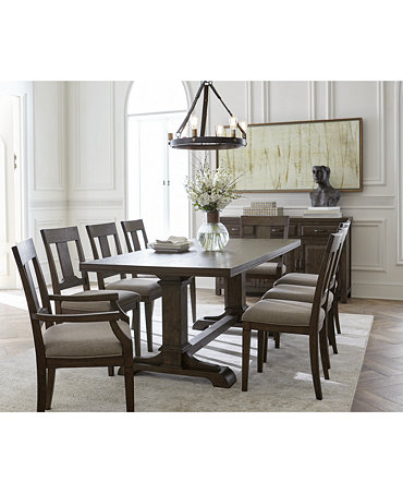 Briarcliff dining furniture collection only at macy 39 s for Dining room tables macys