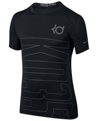 Nike Boys 39 Short Sleeve Kevin Durant Pro Cool T Shirt
