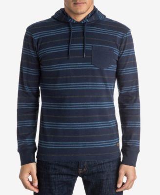 Quiksilver Mens Stripe Pocket Hoodie