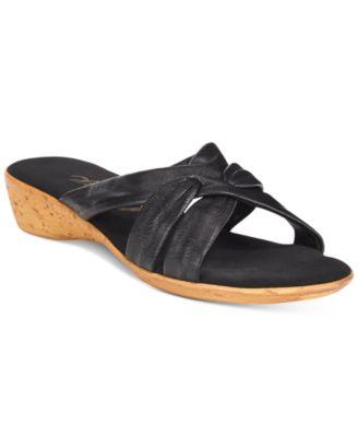 Onex Sail Slide Wedge Sandals