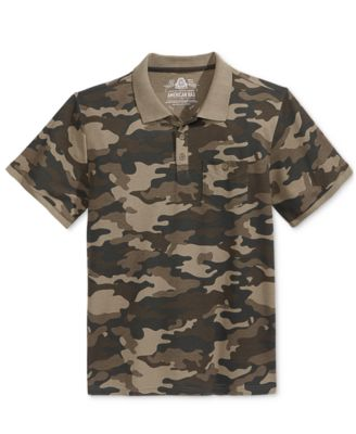 American Rag Mens Camouflage Polo