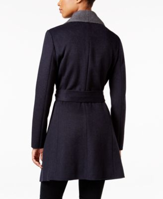 MICHAEL Michael Kors Wool-Blend Wrap Coat