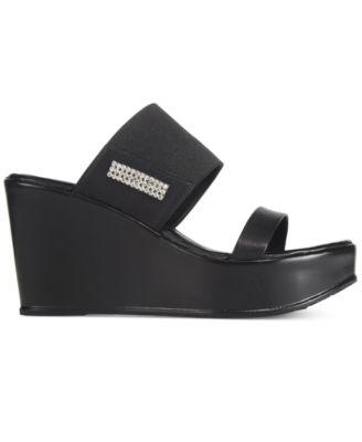 Callisto Oona Wedge Sandals