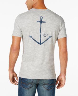 Tommy Hilfiger Mens Big and Tall Dock Work T-Shirt