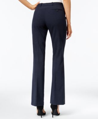 Calvin Klein Petite Straight-Leg Pants