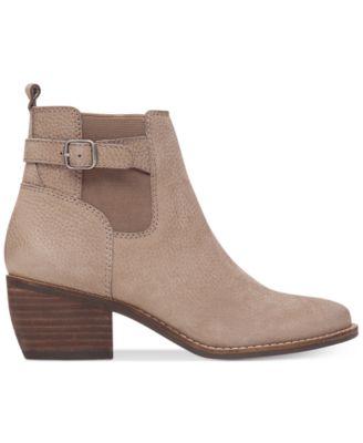 Lucky Brand Womens Khoraa Block-Heel Booties