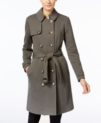 INC International Concepts Military Trench Coat